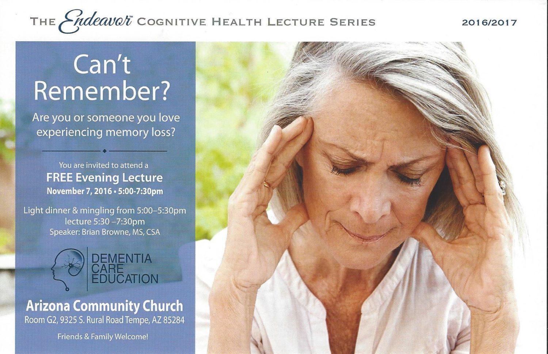 Alzheimer's Care Chandler, AZ