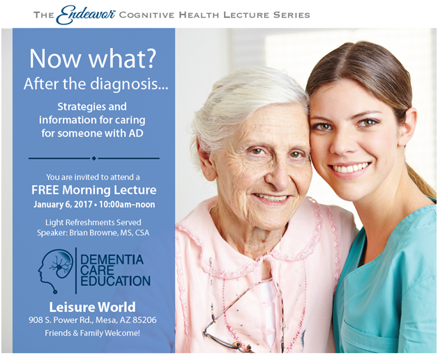 The Endeavor Cognitive Health Lecture Series